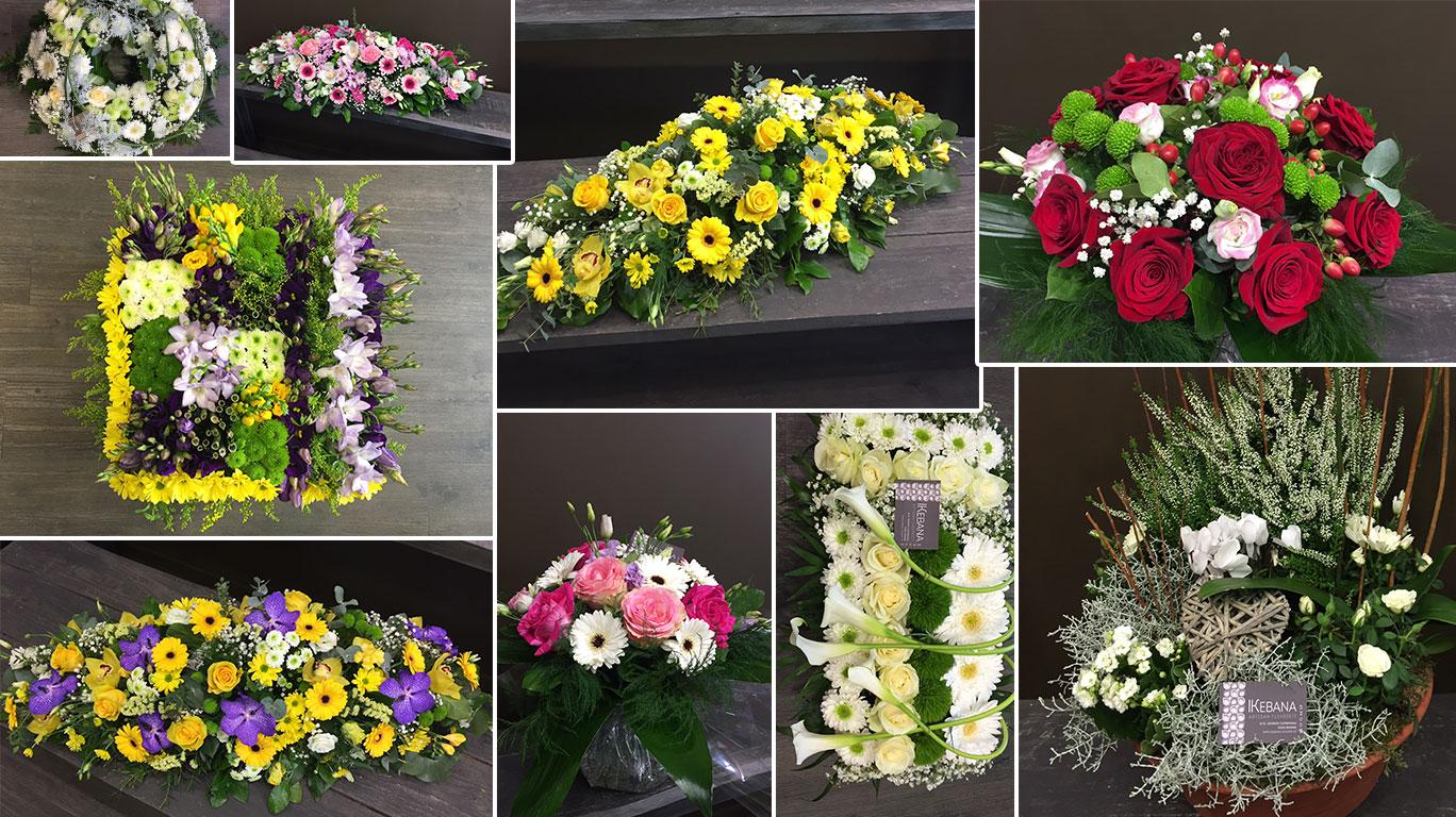 Composition Florale Centre De Table Automne ikebana fleuristes roanne