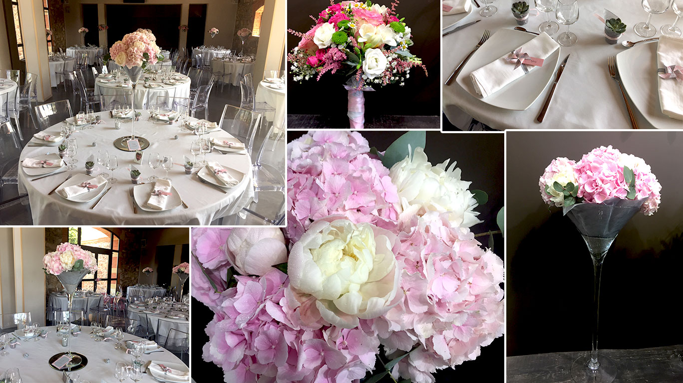 Mariage Hortensia - Chic